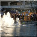 SJ8498 : Watching the fountains by Gerald England