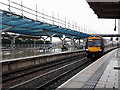 SK3635 : Derby station - Turbostar to Cardiff by Stephen Craven