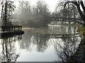 SP5105 : Jubilee Footbridge over the River Cherwell by Philip Halling