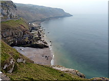 SH7783 : North shoreline of Great Orme's Head by Mat Fascione