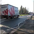 ST3091 : Wrings lorry, Almond Drive, Malpas, Newport by Jaggery