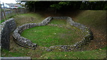 TR3140 : Dover - Knights Templar Church remains on Western Heights by Colin Park