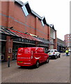 ST3088 : Red van parked in Cambrian Road, Newport by Jaggery