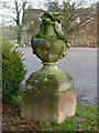 SK6464 : Rufford Abbey Country Park – urn 5 by Alan Murray-Rust
