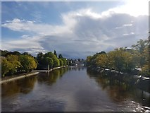 SE5952 : Ouse from Scarborough Bridge by DS Pugh