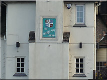SE1836 : The Oddfellows' Arms, Eccleshill - detail by Stephen Craven