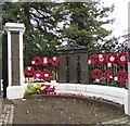 SO2800 : Pontypool War Memorial poppy wreaths by Jaggery