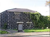 SW5638 : Slag Block Construction - Phillack Church Vestry by Matthew Hatton