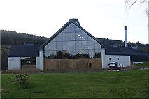 NJ2241 : Delmunach Distillery by Anne Burgess