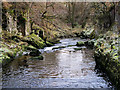 SD7074 : Ingleton Waterfalls Trail, River Doe by David Dixon