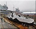 SU6200 : HMS M33 at Portsmouth Historic Dockyard by PAUL FARMER