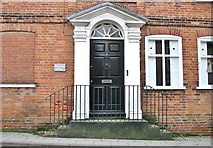 TM3698 : 5 Bridge Street - Bugdon House (entrance) by Evelyn Simak
