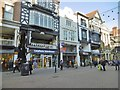 SJ4066 : Chester, Bakers' Row. by Mike Faherty