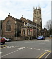 ST3088 : Grade II Listed St Mark's Church, Gold Tops, Newport by Jaggery