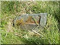 NY3827 : Old Milestone by the former A66, Mungrisdale parish by CF Smith