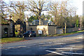 SU9185 : Gate and Feathers Lodge, Cliveden by Robin Webster