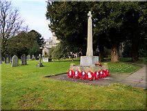 SD6592 : Sedbergh War Memorial, St Andrew's Church by David Dixon