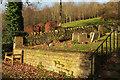 ST7467 : West end of churchyard, Charlcombe by Derek Harper