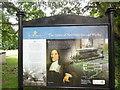 SE7803 : Information Board in St Andrew's Parish Churchyard by David Hillas