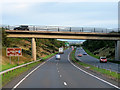 NS2743 : Bridge over the Three Towns Bypass near Stevenston by David Dixon