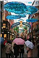 TQ2981 : Carnaby Street Christmas Decorations 2019 by Oast House Archive