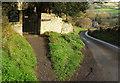 ST7369 : Langridge Lane by Derek Harper