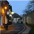 SE5952 : Marygate, York, at dusk by Alan Murray-Rust