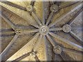 SP3127 : Vaulting in the porch of Chipping Norton church by Philip Halling