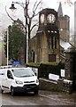 SO2508 : Grade II Listed War Memorial Clock Tower, Blaenavon by Jaggery