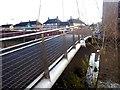 SE6051 : Hungate footbridge - the deck by Oliver Dixon