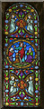 SK6287 : Small Stained glass window, Ss Mary & Martin's church, Blyth by Julian P Guffogg