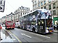 TQ2981 : New Routemaster on Regent Street by Oast House Archive