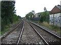 SO9988 : Railway towards Langley Green Station by JThomas