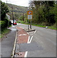 SN7900 : Cycle lane at the edge of the B4434, Clyne by Jaggery