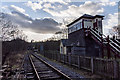 SJ9853 : Leekbrook Disused Railway Station by Brian Deegan