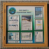 NT4999 : Notice Board at Elie Harbour by Bill Kasman