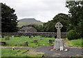 SD8072 : Horton in Ribblesdale war memorial... by Bill Harrison