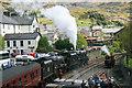 SH7045 : Steam at Blaenau Ffestiniog by Jeff Buck