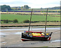 NU2410 : Fishing boat Marean moored at Alnmouth by Andrew Curtis