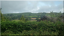 SO2956 : Bradnor Hill (Viewed from the churchyard at St. Mary's Church at Kington) by Fabian Musto