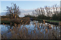 TL5570 : The junction of Monk's Lode and Wicken Lode by Bill Boaden
