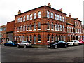 SP0587 : Three-storey brick building in the Jewellery Quarter, Birmingham by Jaggery
