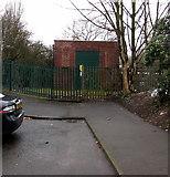 SP0189 : Roebuck Lane electricity substation, Smethwick by Jaggery