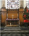 SJ8398 : Christmas at St Ann's by Gerald England