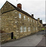 SP0202 : Barton Lane houses, Cirencester by Jaggery