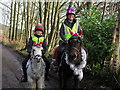 NZ1266 : Christmas Ride, Heddon Banks by Andrew Curtis