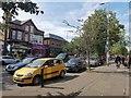 SJ8194 : Disabled parking bays on Wilbraham Road, Chorlton by Phil Champion