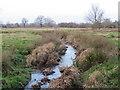 TQ3943 : Drain near Lingfield by Malc McDonald
