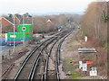 TQ3943 : Railway at Lingfield by Malc McDonald