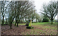 SJ9960 : Commemorative pillar at Tittesworth Reservoir by Trevor Littlewood